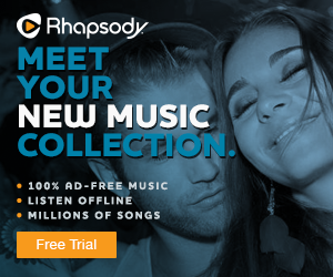 Rhapsody.com 30-Day Free Trial