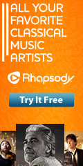 Listen to Classical Music with Rhapsody.com