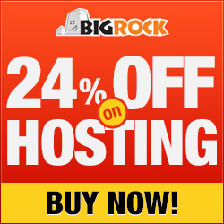 24% off on Web Hosting
