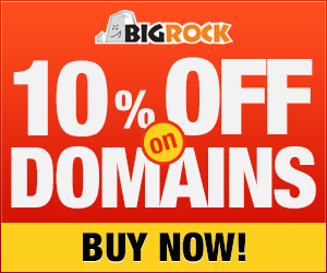 Enjoy Domains @ 10% discount