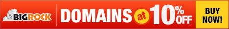 Enjoy Domains @ 10% discount