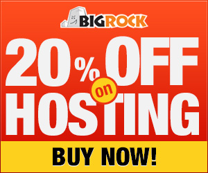 20% off on Web Hosting