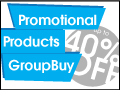 Promotional Products Groupbuy: Up to 40% off