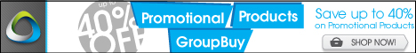 Promotional Products Group Buy: Up to 40% off