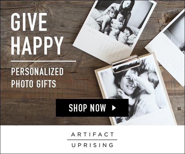 Artifact Uprising personalized photo gifts
