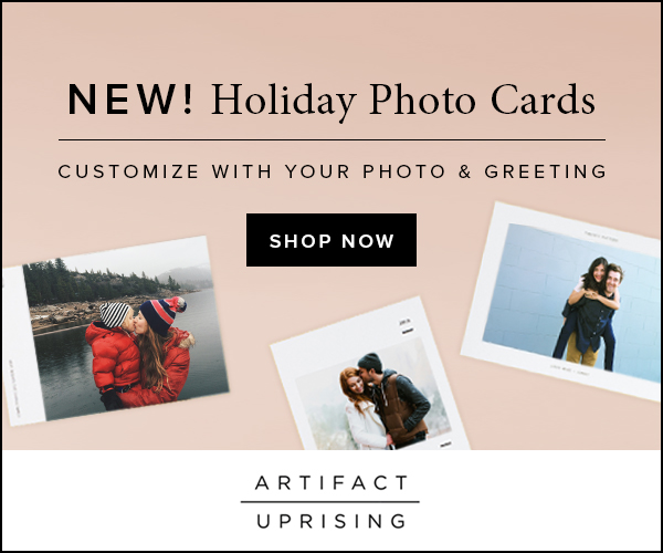Artifact Uprising holiday cards