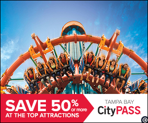 Save up to 38% or more on Tampa Bay's 5 best attractions at CityPASS.com - Shop Now!