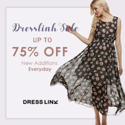 Get up to 75% off Fashion Dresses