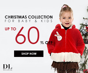 Xmas 60% Off for Baby and Kid Stuff