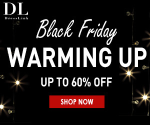 UP to 60% Off Dresslink Black Friday Sale