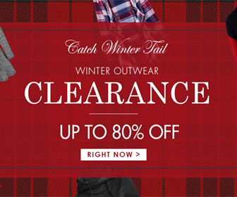 Get Up To 80% OFF Winter Outwear.