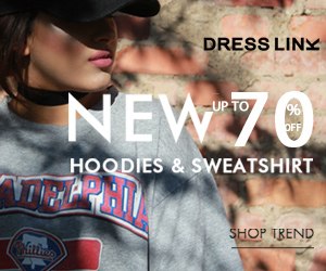 Get up to 70% off New Hoodies.
