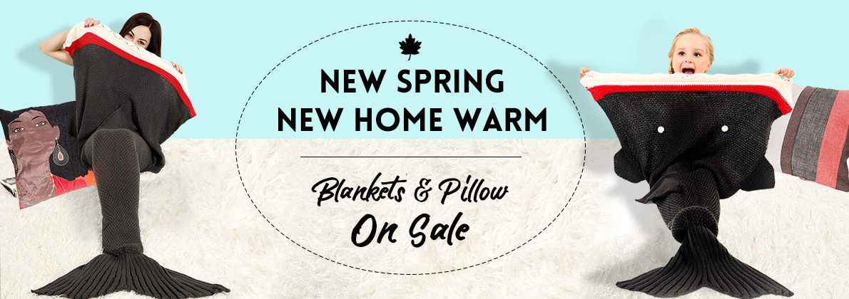 30% off New Spring Blanket Sleeping Bag and Pillows for Adult and Kids