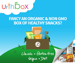 urthbox - box of healthy snacks