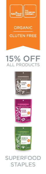 15% OFF All Navitas Naturals Products