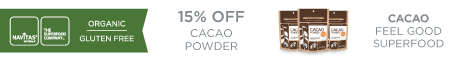 15% OFF Cacao Powder