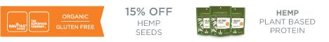 15% OFF Hemp Seed