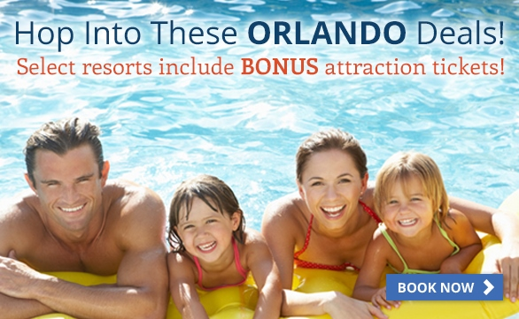 Orlando Vacation Packages starting at only $59