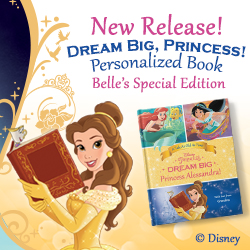 Dream Big Princess Personalized Book Put Me In a Story