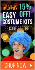 15% Off Easy Costume Kits via TrendyHalloween.com