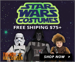 star wars costumes - chewbacca, stormtrooper, darth vader - trendy halloween free shipping