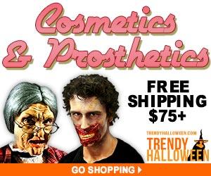 Special FX Cosmetics & Prosthetics via TrendyHalloween.com