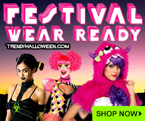 Eye-Candy Costumes & Accessories for Festivals