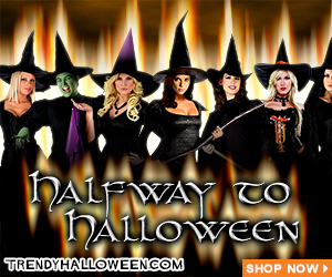 Walpurgis! Halfway to Halloween! Shop & Plan for Halloween 2014 with Trendyhalloween.com