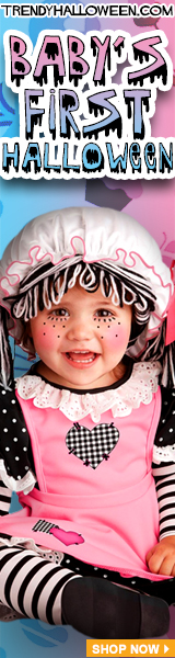 Holiday memories begin with costumes. Shop for your baby's 1st Halloween via TrendayHalloween.com
