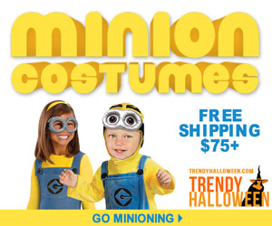 Minion Group Costumes via TrendyHalloween.com - Go Minioning >