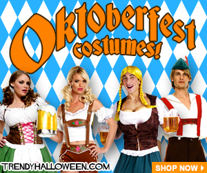 Shop Oktoberfest Costumes 2014 - Lederhosen & German Costumes for Festival Frolicking via Trendyhalloween.com