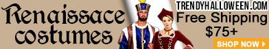 Renaissance Costume ideas for Renfaires available via TrendyHalloween.com