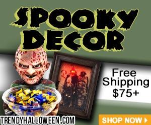 Shop Everyday Spooky Decor for the Halloween lifestyle living via Trendyhalloween.com