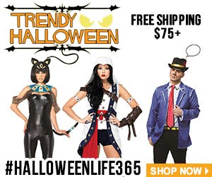 Shop + Save on Halloween Now, Celebrate it 365 Days via TrendyHalloween.com