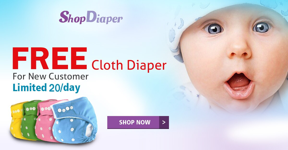 FREE Cloth Diaper from Shop Di...