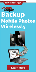 Backup Mobile Photos Wirelessly with Picture Keeper