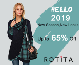 Hello 2019          New Season, New Looks          Up to 65% Off