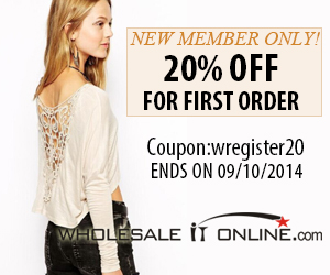 20% Off for New Member 300*250