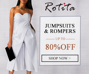 Jumpsuits & Rompers Up to 80% Off