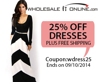 25% Off Dresses plus free shipping 336*280