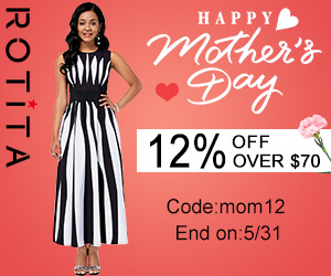 Happy Mother's Day 12% Off Over $70, Code:mom12 End on:5/31