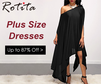 Plus Size Dresses, Up to 87% Off