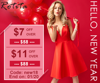 Hello, New Year: $7 Off Over $58, $11 Off Over $88, Code: new18 End on: 01/20