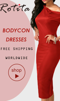 Bodycon Dresses Free shipping worldwide