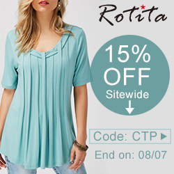 15% off Sitewide Code: CTP End on: 08/07