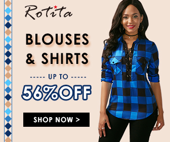 Blouses & Shirts  Up to 56% Off