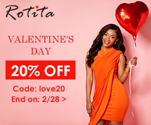 Valentine's Day  20% Off  Code: love20 End on: 2/28