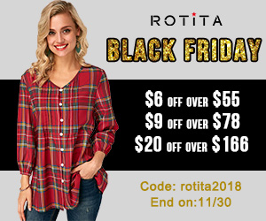 Black Friday: $6 Off Over $55          $9 Off Over $78          $20 Off Over $166