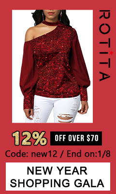 New Year Shopping Gala?12% off over $70?Code: new12 End on:1/8