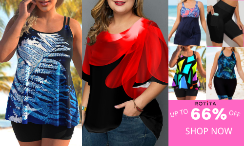 Plus Size Fahsion Up To 66% Off